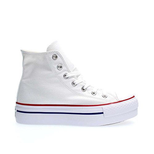 Converse, Chaussures femme Blanc