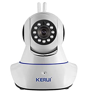 KERUI N62 Wireless 2.4G WiFi 720p IP Camera Video Monitoring / Video Security Camera/ Home security system, Baby Monitoring with APP,Two-Way Audio,Remote View, Motion Detection, SD Card Slot.