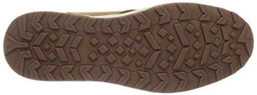 Wrangler Bruce Desert, Homme Brun De Haute Sneaker (braun (64 Cognac))
