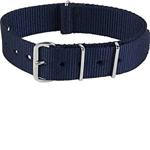 Smart Turnout - NAVY/55/S - Bracelet de montre - Bracelet Nylon multicolore