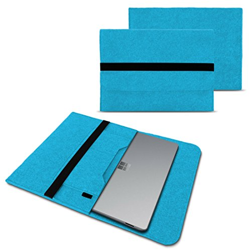 Odys Winbook 13 Sleeve Cover Hülle Tasche Notebook Filz Case Schutzhülle Laptop, Farben:Türkis
