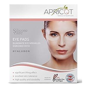 Neu Silicone Care Augen Pads Mit Hyaluron Von Apricot I Augenpflege Mit Hyaluron Anti Aging Fr Augen I Anti Falten Pads Gegen Falten I Wiederverwendbare Silikonpads