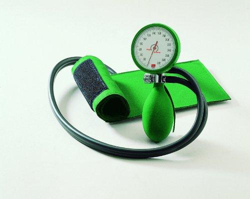 Blutdruckmessgerät boso clinicus II mit Klettenmanschette, grün