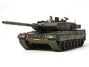 Tamiya 300035271 - Maqueta de Carro de Combate Leopard 2A6 3 (Escala 1:35), diseño de República Federal de Alemania