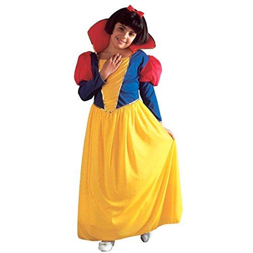 Kinder Schneewittchen Kostüm Kinderkostüm Märchen Prinzessin Karneval L 156cm 11-13 Jahre