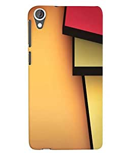 Citydreamz Multicolor Solid Design Hard Polycarbonate Designer Back Case Cover For HTC Desire 628