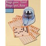 petit jeu de bingo loto tombola de voyage + carte et melangeur