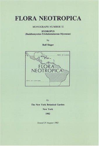 Hydropus (Flora Neotropica, Monograph)