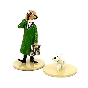 "Figurine Pixi / Moulinsart: Tournesol avec Milou ""Lisez Tintin"" 46304 (2016) 4"