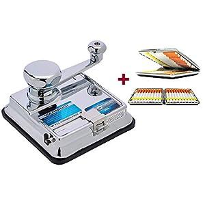Stopfmaschine Mikromatic Duo inkl. Zigarettenetui von SweedZ