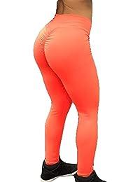 Damen Leggings Jogginghose High Waist Tights Frauen Sporthose Elatisch Yogahose Einfarbig Push Up Trainingshose Laufenhose Leggins für Fitness Workout Gymnastik