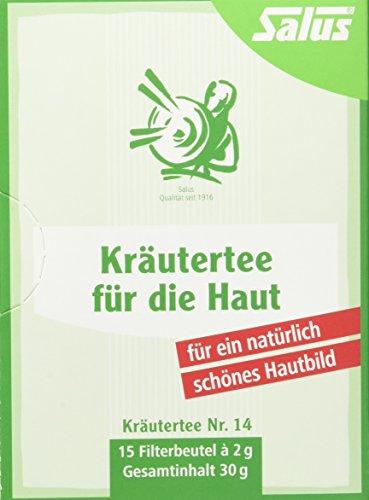 Schöne Haut-tee (Salus Kräutertee für die Haut Nr. 14, 3er Pack (3 x 30 g))
