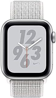 Apple Watch Series 4 Nike+ - 44mm Silver Aluminum Case with Summit White Nike Sport Loop, GPS, watchOS 5