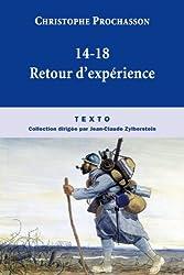 1914-1918 : Retours d'expériences