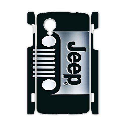 Google Nexus 5 Phone Case Top Design Jeep Wrangler Logo JP300252