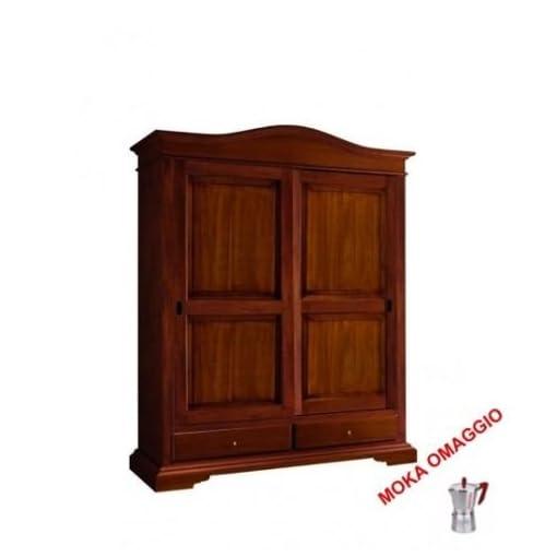 L\'Aquila Design Arredamenti CLASSICO armadio legno mobile 2 ante 2 ...