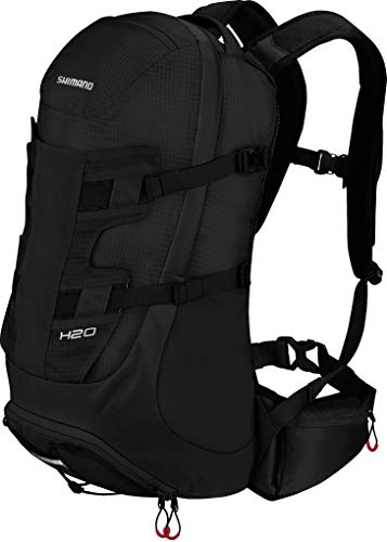 SHIMANO Hotaka Backpack 20 L Black/red 2019 Rucksack