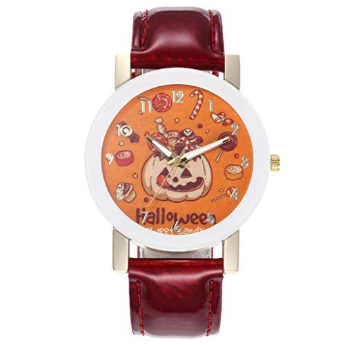 Mitlfuny Festival Weihnachten Halloween Oktoberfest Karneval Zubehör,Dress up,Dekoration,Halloween Explosion gürtel Uhr männer und Frauen Paar Uhr gürtel (Spider Mann Paare Kostüm)