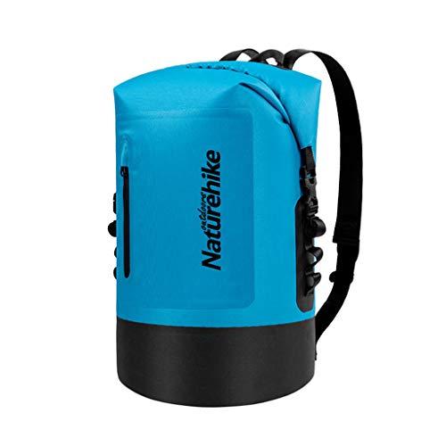 LVLONG Schwimmschwimmer, nautische Wassersicherheit Swim Buoy Dry Bag, Wasserschwimmer und Triathleten, Verstellbarer Tow Waist Belt für Allwatersport/20-40l