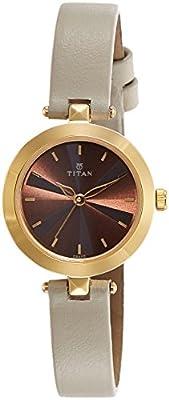 Titan Analog Brown Dial Women's Watch-2574YL01