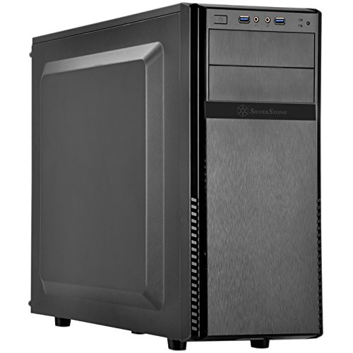 SilverStone SST-PS11B-Q - Cabinet Precision Mid-Tower ATX Silent, nero