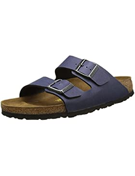 Birkenstock - Arizona Pull Up Navy, Sandali Unisex – Adulto