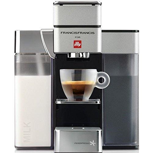 illy Macchina da caffè Iperespresso Y5 Grigio Chiaro