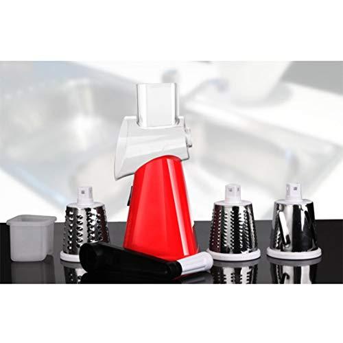 Preisvergleich Produktbild LouiseEvel215 Multifunktionale manuelle Schneiden Artefakt Hand Push Rotary Shredder Gerät Küchenhelfer Zubehör tragbar