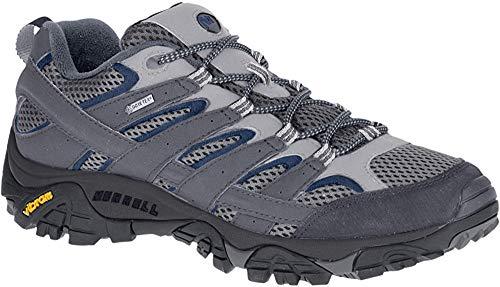Merrell Moab 2 Gore-Tex, Zapatillas de Senderismo para Hombre, Gris Castlerock, 42 EU