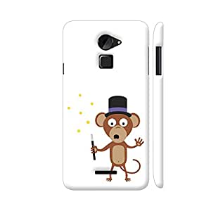Colorpur Coolpad Note 3 Lite Cover - Magical Monkey Printed Back Case