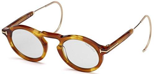 Tom ford -  occhiali da sole  - uomo havanna blond 48