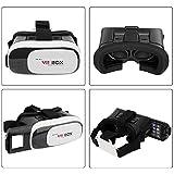 Blackbug Virtual Reality Glasses 3D VR Box Headsets For 4.7 Inch Mobile Phones - White