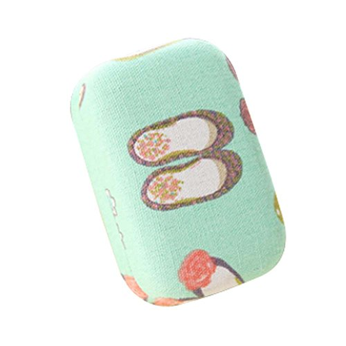 fresh-style-contact-lenses-holder-green-color-with-shoes-pattern-lenses-cases