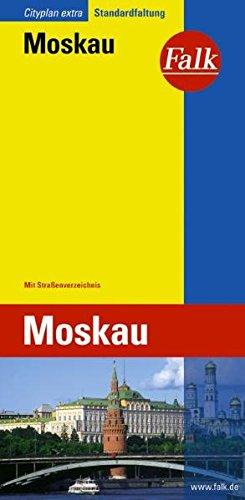 Falk Cityplan Extra Standardfaltung International Moskau mit Straßenverzeichnis - Stadtplan Moskau