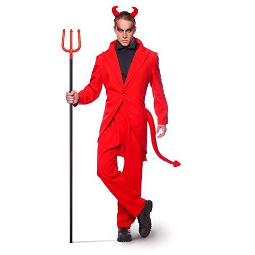 it Roter Teufel Halloween Fasching Karneval (M/L) ()