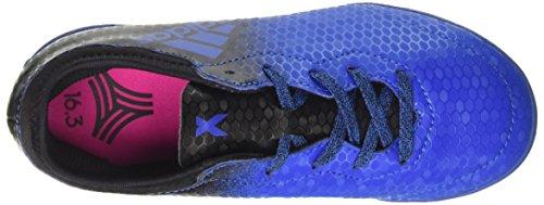 adidas X Tango 16.3 Tf J, Chaussures de Football Entrainement garçon Multicolore (Blue/cblack/shopin)