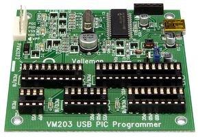 MODULE, PIC PROGRAMMER, USB VM203 By VELLEMAN KIT (Pic Programmer Kit)