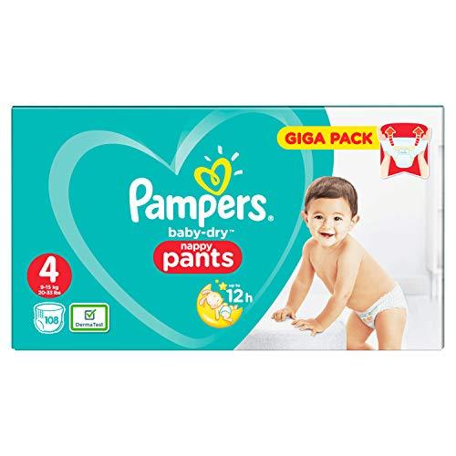 Pampers Baby Dry 81681812 pannolino usa e getta Ragazzo/Ragazza 4 108 pezzo