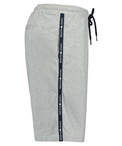 Tommy Hilfiger Herren Pyjama Shorts Grau