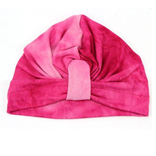 Culater® Bello sveglio sveglia molle Cappello Boemia Baby Girl (Rosa caldo)