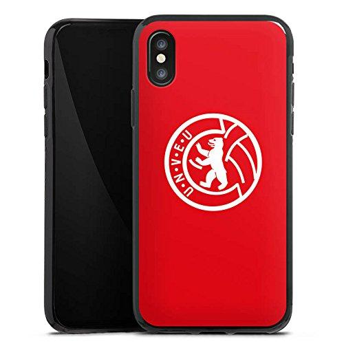 Apple iPhone 6s Hülle Case Handyhülle 1. FC Union Berlin Fußball Fanartikel Silikon Case schwarz