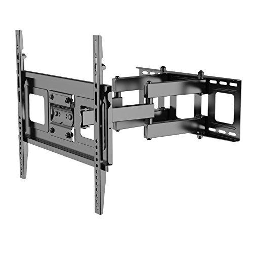 TV-Wandhalterung/Fernsehhalterung für LED LCD Plasma, mit Wasserwaage, schwenkbar, neigbar (32-50 Zoll | max.VESA 400x400) ()