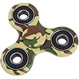 Ouneed® Hand Spinner Spielzeug , Fidget Spinner Camouflage Triangle Single Finger Decompression Gyro (A)