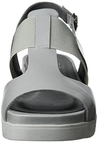 LiliMill Damen Yoga Slingback Sandalen Grau (Fog)