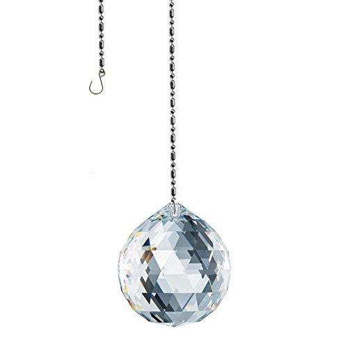 Swarovski spectra crystal 40mm trasparente sfera di cristallo senza piombo feng shui sun catchers, molto cristallo austriaco con certificato