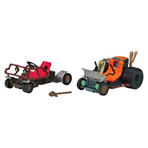 Teenage Mutant Ninja Turtles Raph & Mikey's ATV Patrol Buggies