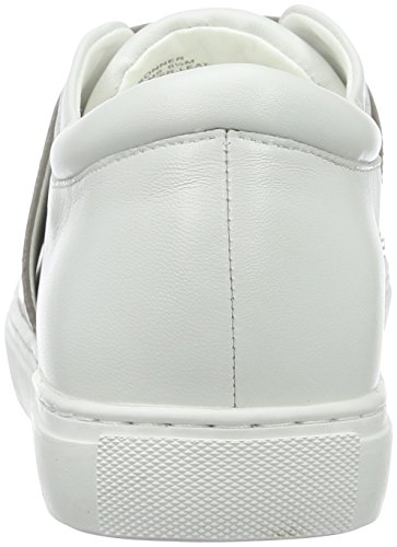 Kenneth Cole Damen Konner Sneakers Weiß (White/pewter 197)