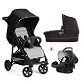 Hauck/Rapid 4 Plus Trio Set/Trio Passeggino 3 in 1/Ovetto Isofix/Navicella con...
