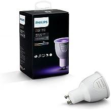 Philips Hue White & Color Ambiance GU10 LED Lampe Erweiterung, dimmbar, bis zu 16 Millionen Farben, steuerbar via App, kompatibel mit Amazon Alexa (Echo, Echo Dot)