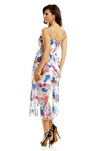 Fashion - Robe - Femme Multicolore - Blau Mix